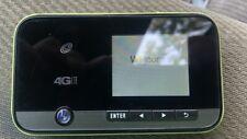 Straighttalk ZTE 4G LTE Mobile Hotspot MiFi Portable Green And Black