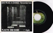 "PLASTIC ONO BAND (JOHN LENNON) - GIVE PEACE A CHANCE - RARE 7"" PORTUGAL PRESSING"