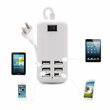 30W Multi-USB Port 6 Port Wall Charger AC Power Adapter For USB-Powered Devices