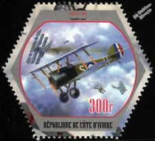 WWI RFC/RAF SOPWITH CAMEL Dogfight / Fighter Aircraft Stamp (2018)
