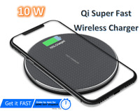 QI Wireless Charger Fast Charging Pad For Apple iPhone 12/11  X XR XS Max 8 Plus