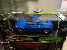 1 18 Nissan 350z Fast And Furious ERTL Racing Champions