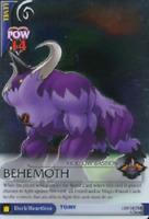 Behemoth Lv6 (SR FOIL #130/162 - Break of Dawn) Disney Kingdom Hearts TCG Card