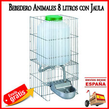 BEBEDERO PERROS GATOS ANIMALES Aluminio con DEPOSITO 8 LITROS agua. 23x33x46 cm