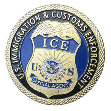 U.S. Immigration and Customs Enforcement GP Challenge coin 1407#