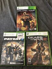 Xbox 360. 3 Game Bundle. Gears Of War Judgement Gears Of War 2 Payday 2