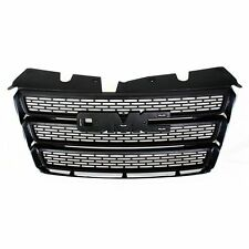 NEW GRILLE MATTE BLACK WITH CHROME MOLDING FOR GMC TERRAIN GM1200630