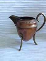 French style Copper Urn shaped Small Pitcher. Antique Vintage 1923 Nouveau, Deco