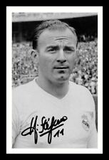 ALFREDO DI STEFANO - REAL MADRID AUTOGRAPHED SIGNED & FRAMED PP POSTER PHOTO