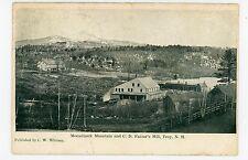 CD Farrar's Mill—Troy NH Chesire County—Mount Monadnock—CW Whitney 1910s
