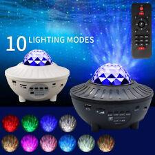 LED Children Night Light Star Projector Kids Ocean Starry Galaxy Sky Party Lamp