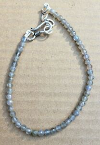 Labradorite Bracelet Round Faucet New Reiki Free Ship