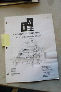 Ferris ISZ100 Zero Turn Mower Parts Manual