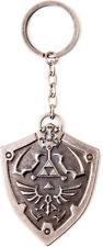 The legend of zelda metal shield keychain porte-clés | official nintendo (neuf)