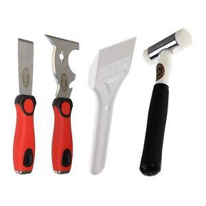 Glazing Tools UPVC Window Paddle / Thor Hammer / Chisel / Multi Shear Deglazing