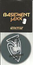 BASEMENT JAXX Red Alert 3TRX Caer Sleeve MIXES & DUB CD single w/ STEVE GURLEY