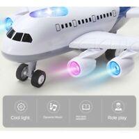 1x avion jouets cadeaux éducatifs pour avec des lumières, chante et sons
