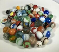 Lot of 58 - Vintage Glass Marbles, German, Christensen, Akro, Others