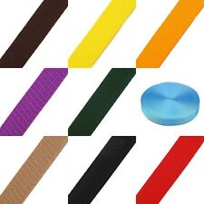 Polypropylene Webbing Strap 30mm x 5 Metres Many Colours Bags Straps Upholstery