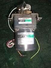 Oriental Motor; Synchronous motor; motor de engranaje; 4sk 15 GN-hipótesis