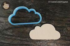 Soft Cloud Plaque Cookie Cutter, 3D Printed