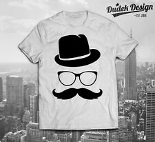 Hipster T Shirt Swag Funny Dope fresca Fashion Sombrero Bigote Indie Vogue Celine