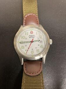 Wenger Swiss Military 72801 Classic Stainless Watch