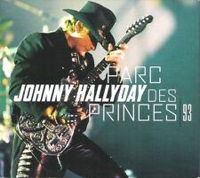 "Triple CD Digipack ""Johnny Hallyday"" Parc des Princes 1993"