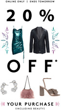 SAKS FIFTH AVE Coupon 20% off Online Purchase Beauty Included EXP 2/23