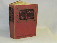 Antique Book - The Case of Paul Breen by Anthony Tudor L.L.B.
