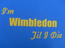 AFC Wimbledon T-Shirt Inc 4XL & 5XL Personalised Christmas Birthday Gift