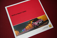 Renault Twingo Brochure 2012 includes GT - French