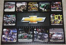 2012 Team Chevy Brickyard 400 Indy NASCAR postcard Danica Earnhardt, Jr. Gordon