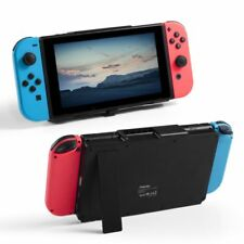 Portable 10000mAh Charger Power Bank Case w/Stand for Nintendo Switch Black