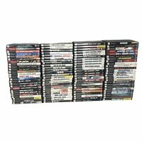 Lot of 100 Playstation 2 Games w/Cases Whole Bulk Reseller