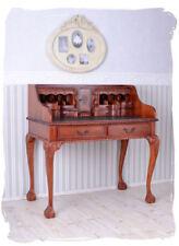 acajou Secrétaire Bureau colonial Table de compartiment secret en bois
