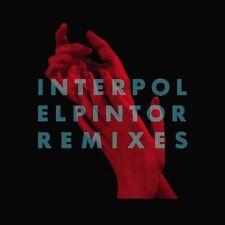 INTERPOL El Pintor Remixes - LP / Clear Vinyl - RSD 2016 - Limited + DL Code