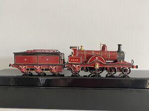 OO Gauge Kit built Midland Railway 4-2-2 Johnson Spinner Steam Locomotive