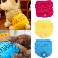 Female Pet Puppy Dog Briefs Hygiene Sanitary Menstrual Pants Underwear Diaper B