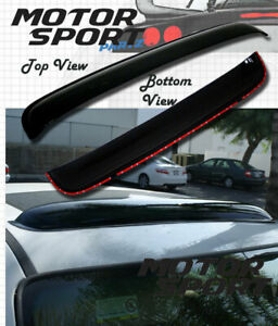 "3mm Deflector Sunroof Sun Moon Roof Visor 980mm 38.5"" Inch For Mid Size Vehicle"