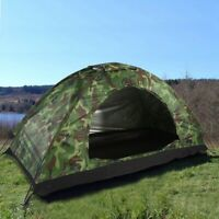 Outdoor Durable Tent UV Protection Waterproof One Person Tent for Camping Hiking