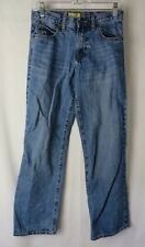 Old Navy Boys Jeans Boot Cut Semi Evase Adjustable Waist Blue Size 16   #8078