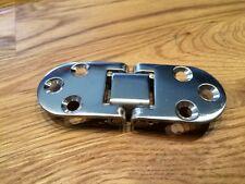 1 Stück Edelstahl Tisch-Scharnier 80x30 poliert max 180°