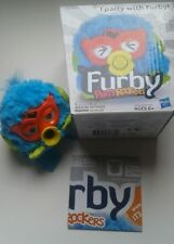 "! NEW Hasbro : 2013 Party Rocker FURBY Twittby Turquoise Yellow Orange Mini 4"" !"