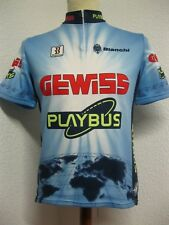 Ancien MAILLOT BIEMME GEWISS PLAYBUS BIANCHI Cycling Team Jersey Maglia Camiseta
