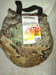 ALLEN  CAMOUFLAGE THERMO SEAT  MADE IN USA NEW WITH TAGS - HUNTING, CAMPING ETC