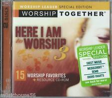 WORSHIP TOGETHER -Here I Am To 3 / 2 Disc Set - Christian Music CCM Worship CD