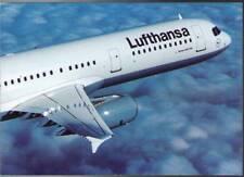 (whq) Airplane Postcard: Lufthansa, Airbus A321-100