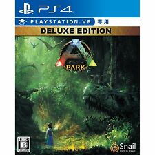 Studio Wildcard ARK Park VR Deluxe ed SONY PS4 PLAYSTATION 4 JAPANESE VERSION