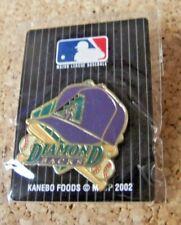 Arizona Diamondbacks 2002 Kanebo Foods Japanese lapel pin issued in Japan MLB